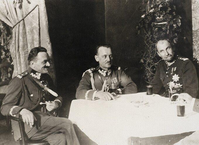 Włodzimierz Zagórski, Władysław Sikorski iTadeusz Rozwadowski