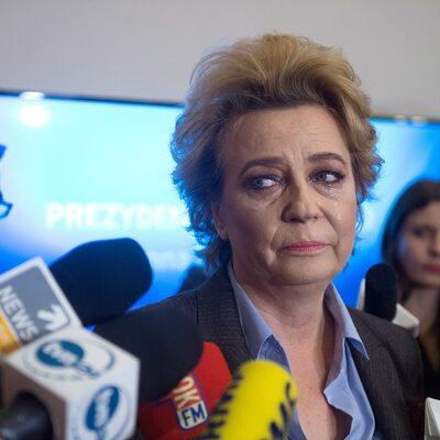 Zdanowska wpłaciła grzywnę