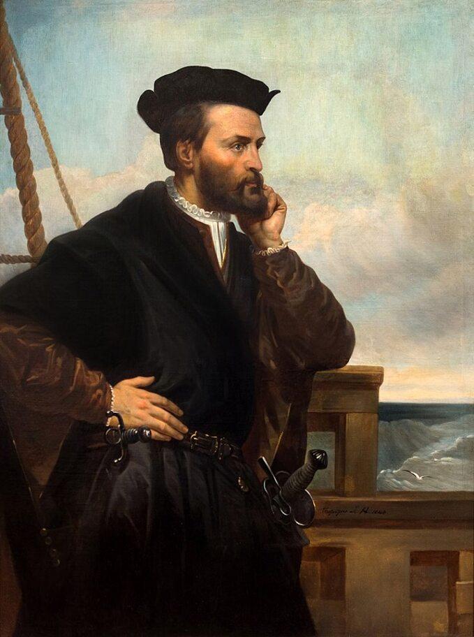 Théophile Hamel, Portret Jacques'a Cartiera