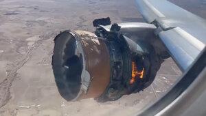 Awaria Boeinga 777, zapalił się silnik. Na pokładzie było 241 osób