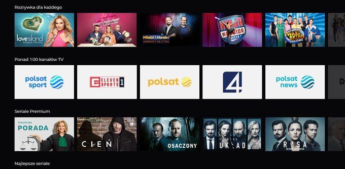 Polsat Box Go Premium oferuje dostęp dowielu kinowych hitów orazseriali premium
