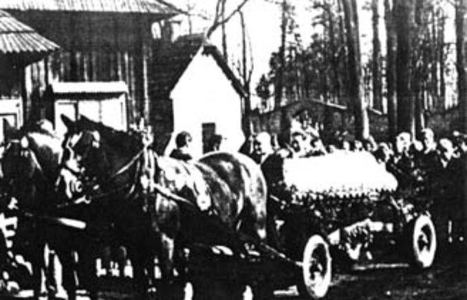 Pogrzeb Heleny Marusarzówny wZakopanem, 1958 rok