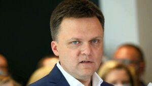 Hołownia: Nie jest pan naszym bogiem, panie Kaczyński