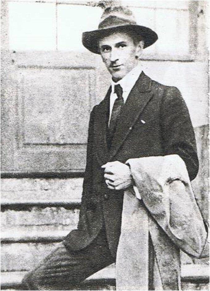 Kpt. Tadeusz Puszczyński w1921 roku.