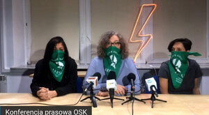 Wandalizm feministyczny spod znaku zielonej chusty
