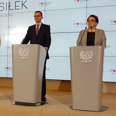 """""""Ten, kto troszczy się o dzieci, ten troszczy się o Polskę"""". Nowy..."""
