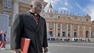 Kardynał Sarah pozostał sobą