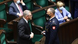 Grzegorz Braun wykluczony z obrad Sejmu. Interweniowała marszałek Witek