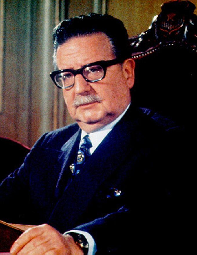 Prezydent Chile, Salvador Allende