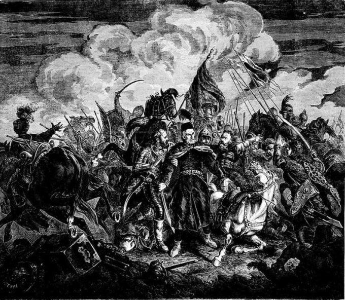 Juliusz Kossak, Bitwa podCecorą 1620