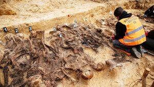 IPN odkrył zbiorowy grób na Białołęce. Szczątki dzieci, kobiet i mężczyzn