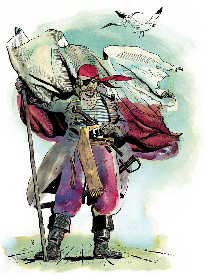 Polscy piraci zKaraibów