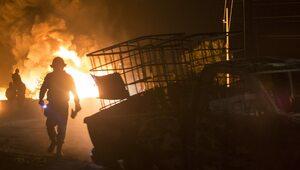 Potężna eksplozja w składzie amunicji na Ukrainie. Ewakuowano 10 tys. osób