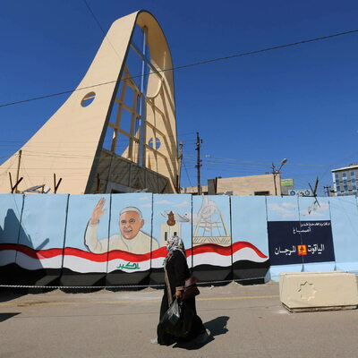 Papież w Iraku