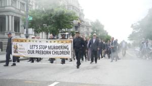 """Marsz Mężczyzn pro-life. """"Aborcja to też sprawa mężczyzn!"""""""