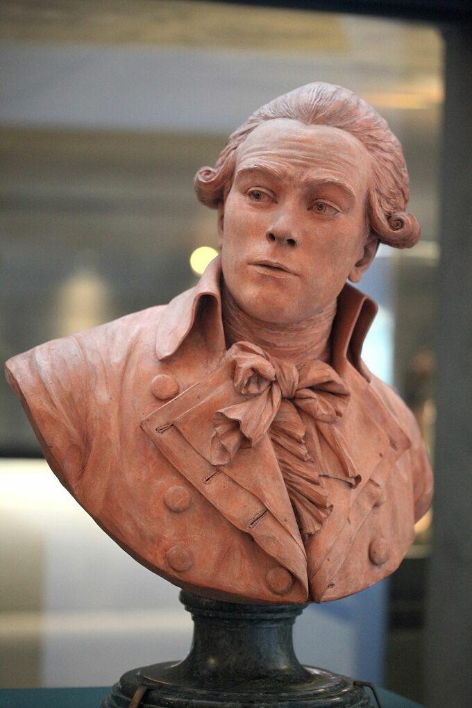 Popiersie Maximilien'a de Robespierre'a