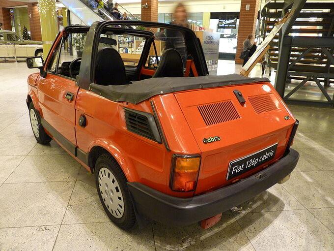 Fiat 126p, wersja cabrio