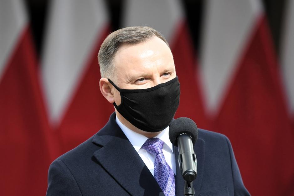 """Prezydent Duda pożegnał Krzysztofa Krawczyka. """"Odszedł wspaniały artysta"""""""