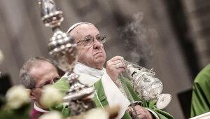 Pasterka w Watykanie. Papież mówił o dzieciach, które nie mogą się narodzić