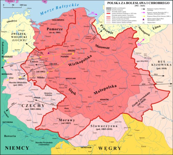 Polska zapanowania Bolesława Chrobrego