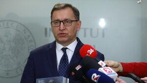 """Prezes IPN rozwiązał umowę z Greniuchem. """"Utrata zaufania"""""""