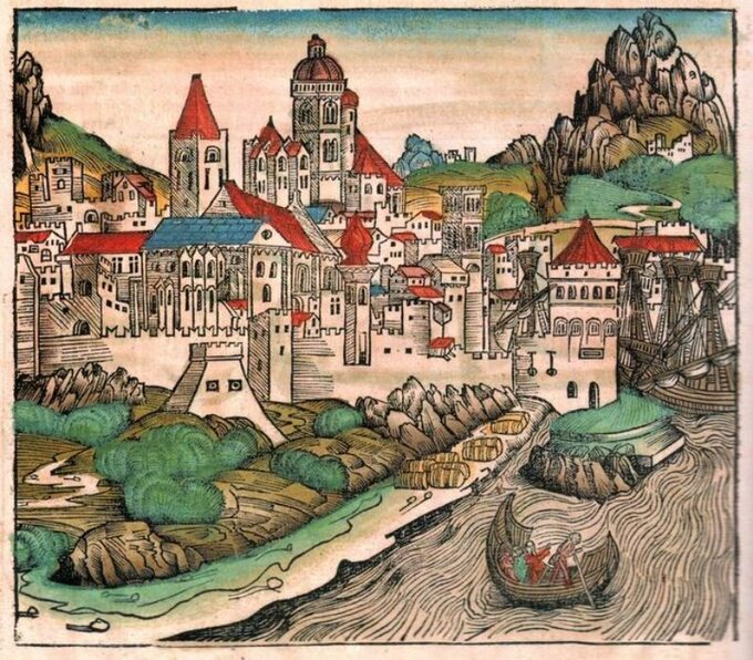 Moguncja, koniec XV wieku
