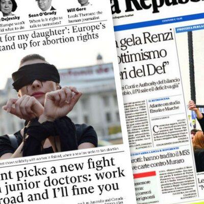Media: Polki walczą o prawo do aborcji