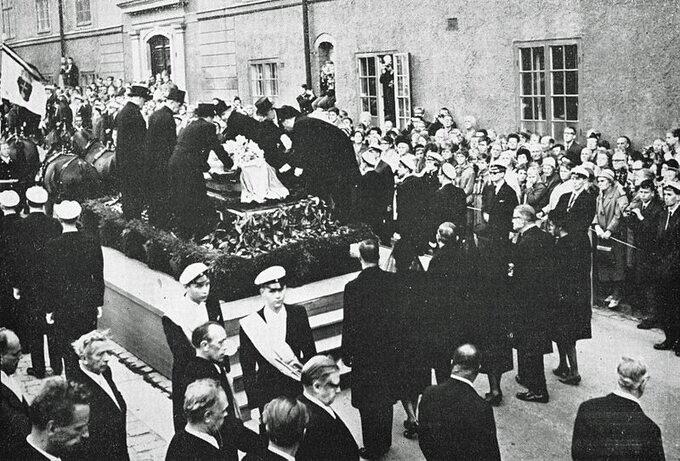 Pogrzeb Daga Hammarskjölda