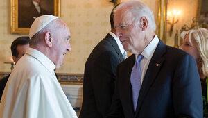 Biden i Franciszek. Watykan odmówił Mszy Świętej pro-aborcyjnemu...