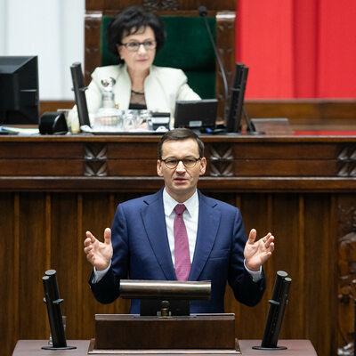 Expose Morawieckiego, wyrok TSUE i nocne obrady Sejmu