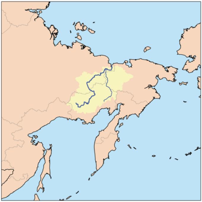 Kołyma – lokalizacja wpołudniowo-wschodniej części ZSRS