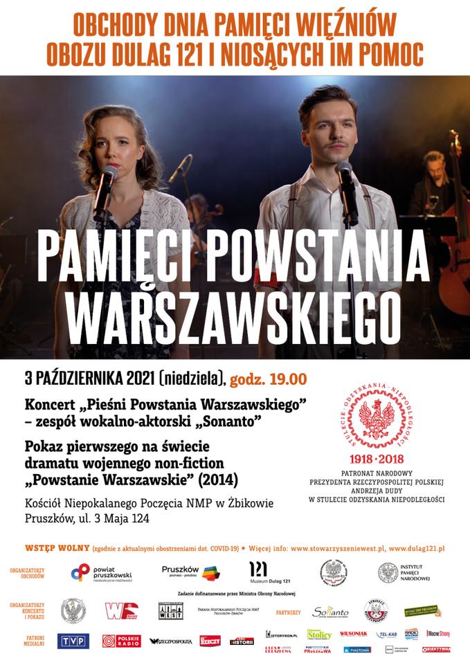 """Koncert """"Pieśni Powstania Warszawskiego"""""""