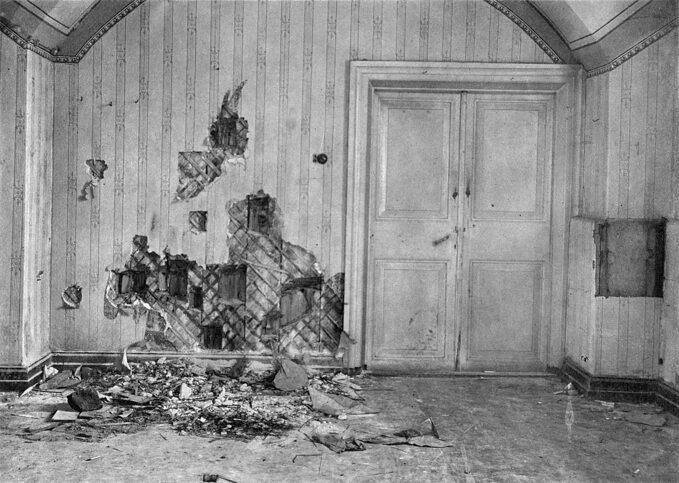 Piwnica, wktórej zginęła rodzina Romanowów