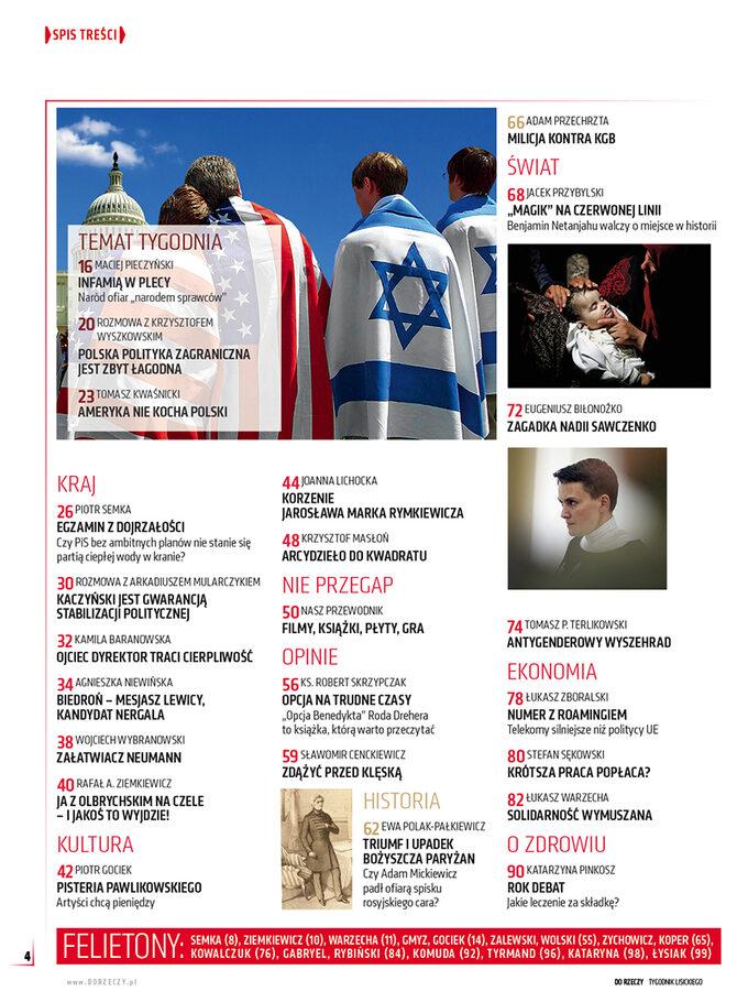 """""""Do Rzeczy"""" nr 21: Jak silne jest żydowskie lobby? Czypolski rząd potrafi sobie znim poradzić?"""