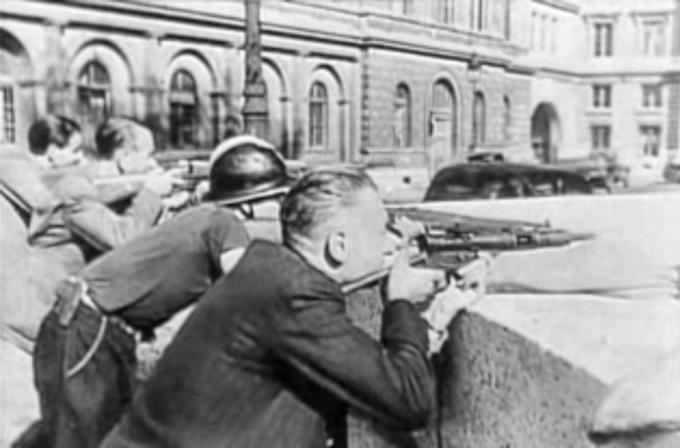 Powstanie paryskie, sierpień 1944 rok