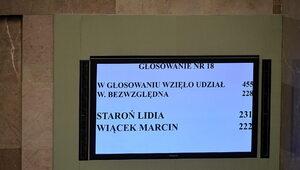 Sejm powołał Staroń na RPO. Jak głosowali posłowie?