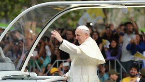Franciszek przypomniał o rocznicy objawień Jezusa Miłosiernego