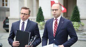 Politycy PiS: Dzięki Szczerbie i Jońskiemu oczekujemy zwyżki notowań