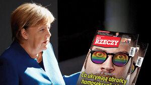 """Upokorzona Merkel. O tym w """"Do Rzeczy"""""""