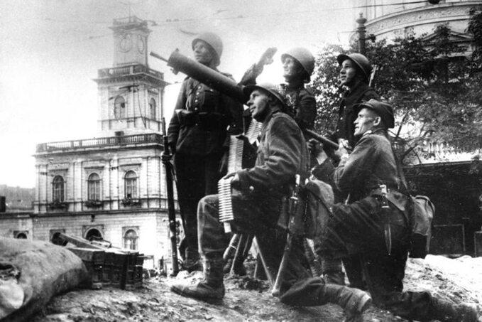 Obrońcy Warszawy wewrześniu 1939r.