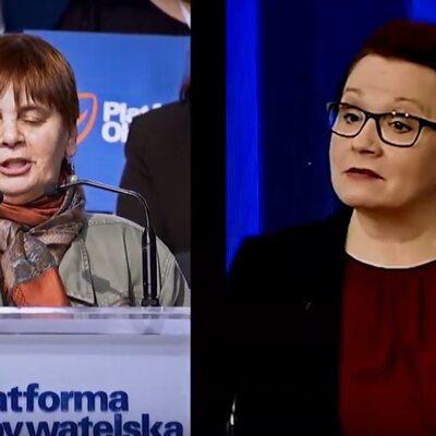 Ochojska vs. Zalewska. PO uderza w PiS w nowym spocie