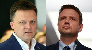 Politolog: Hołownia i Trzaskowski idą na zwarcie polityczne