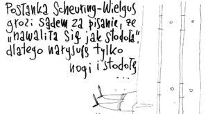 Tu nie ma nic o posłance Scheuring-Wielgus