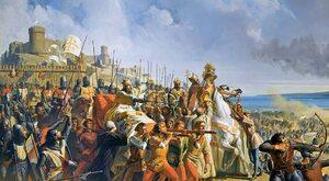 Król Trędowaty bije muzułmanów. Jak chrześcijanie ocalili Jerozolimę