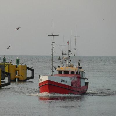 Wypadek na Bałtyku. Kapitan ewakuował się z płonącego jachtu