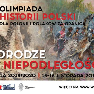"""""""W drodze do Niepodległości"""". Olimpiada Historii Polski w 10 różnych..."""