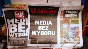 Sondaż: Polacy ocenili protest mediów i podatek od reklam