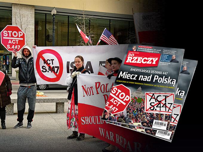 """""""Do Rzeczy"""" nr 19: Miecz nad Polską. Amerykańska ustawa 447."""