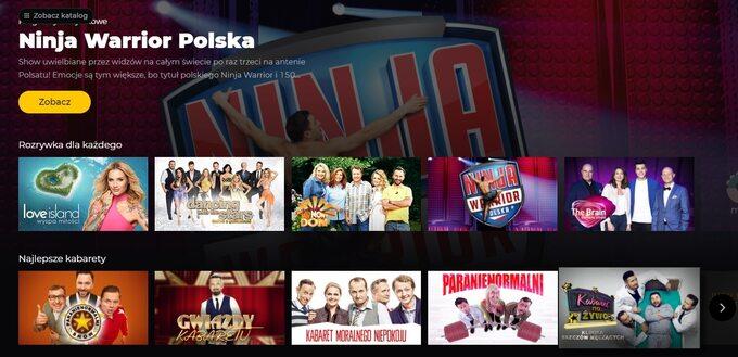 Polsat Go, wzamian zaoglądanie reklam, daje dostęp dowybranych treści Telewizji Polsat całkowicie bezpłatnie