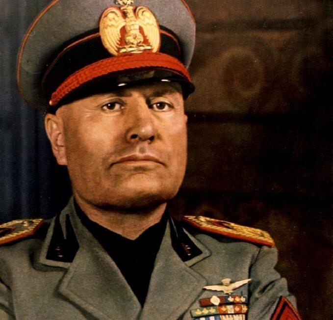 Benito Mussolini w1940r.